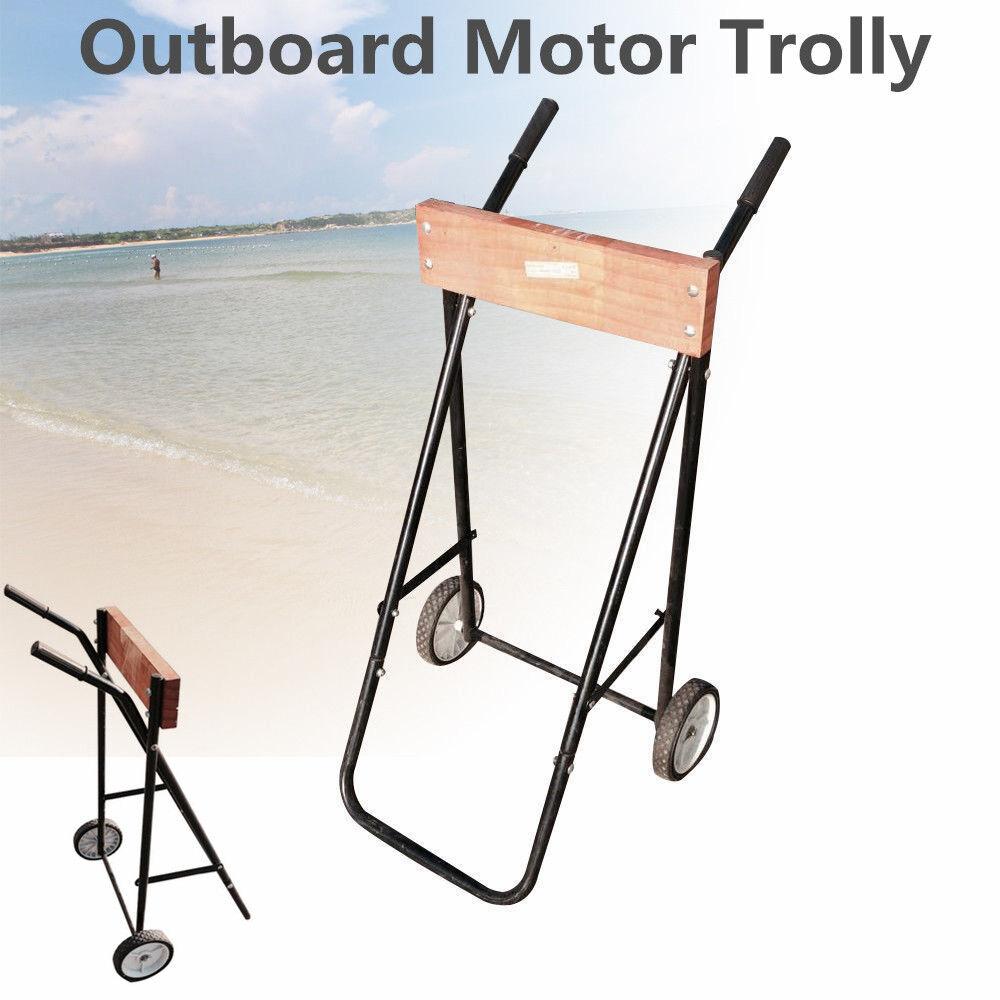Außenbodenmotoren Außenbodenmotoren Außenbodenmotoren Außenborderwagen Transportwagen Außenbord Motor Trolley Wagen 03a98d