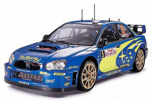 Subaru Impreza Wrc Monte Carlo 2005 1:24 Plastic Model Kit TAMIYA
