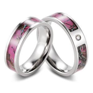 image is loading pink muddy girl camo ring set engagement wedding - Pink Camo Wedding Ring