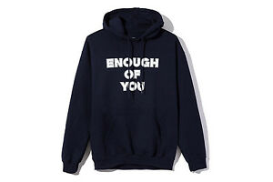 a59f31dd2278 ANTI SOCIAL SOCIAL CLUB PERIOD CORRECT ENOUGH OF YOU HOODIE XL 100 ...