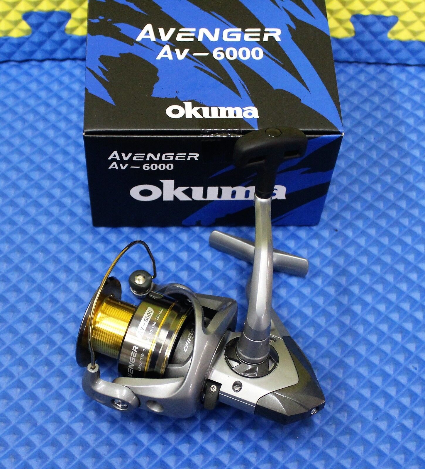 Okuma Avenger AV-6000 Spinning Reel NEW FOR 2019 AV-6000