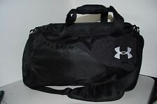 Under Armour Gym Bag Duffel, Black, RN# 104409 CA# 50076