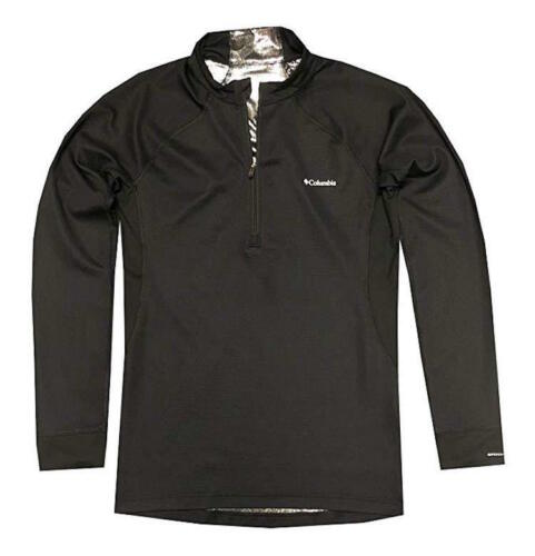 NEW Columbia Mens Heavyweight Half Zip Long Sleeve Baselayer Shirt S M L XL XXL