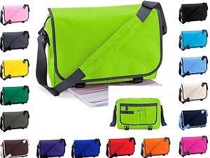 Mens-Ladies-Messenger-Tote-Shoulder-Hand-Carry-School-College-Student-Laptop-Bag