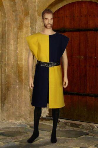 Handmade Medieval Renaissance Tunic Robe Tudor Knight Tabard Costume