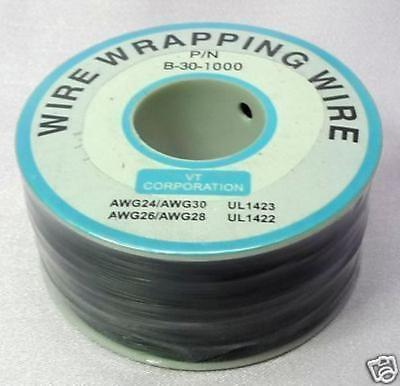 Prototype Wire wrap cable 30AWG 30# 300M Black Xbox WII