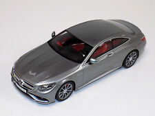 1/18 GT Spirit Street Mercedes Benz AMG S63 Coupe Silver Limited to 1000 GT063