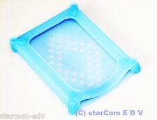 "2.5"" / 6,4 cm Festplatten-Schutzhülle HDD Schutz-Hülle Protektor Silikon blau"