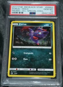 Holo-Foil-Zorua-SM83-Sun-amp-Moon-Black-Star-Promo-Set-Pokemon-PSA-10-GEM-MINT