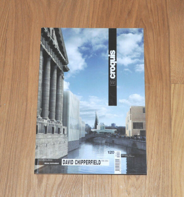 David Chipperfield 1998 - 2004 Taschenbuch Ausgabe EL Croquis Nr. 120 *RAR*