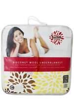 Crestell Biozone wool underblanket reversible QUEEN Bed Size RRP $269