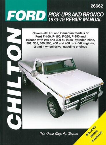 sainchargny.com Chilton Handbuch Ford Pick-Up&Bronco 1973-79 ...