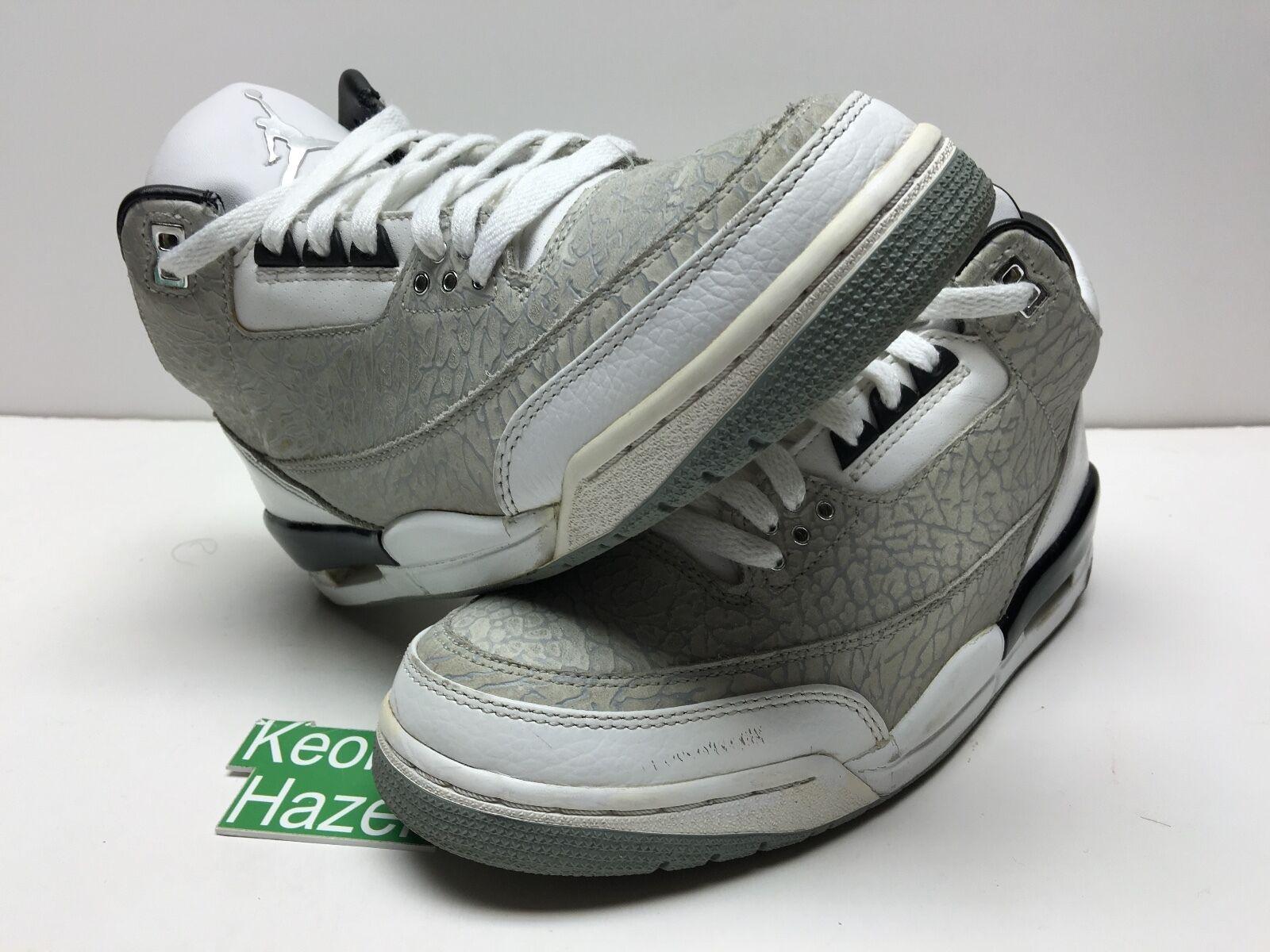Nike Air Jordan 3 III Retro Flip True Blue Cavs Bred Cement Fear Pack OVO Sz 8.5 Brand discount