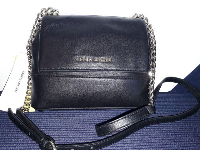 afaae6a231ed5 Ladies Karen Millen Animal Faux Studded Leather Bag Cross Body ...