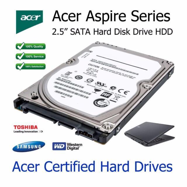 250GB Acer Aspire 7552G 6.3cm SATA PORTATILE Unità disco rigido HDD upgrade
