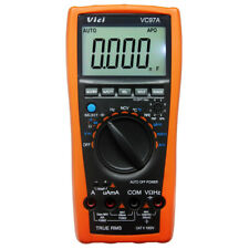 VICI VC97A 3999B LCD Auto range multimeter True RMS Backlight diode Temp USA