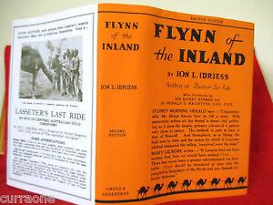 Ion-L-Idriess-FLYNN-OF-THE-INLAND-2nd-ed-1932-HC-copy-jacket-AUSTRALIAN-AUTHOR