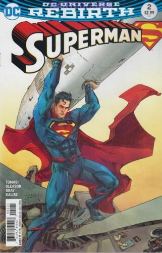 SUPERMAN #2 VARIANT COVER JULY 2016 SOLD OUT DC COMIC BOOK NEW 1 REBIRTH