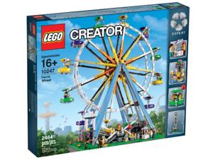 BEVILJAD  LEGO 10247 Skapare Expert på Ferris hjul NY, Factory -förseglad låda
