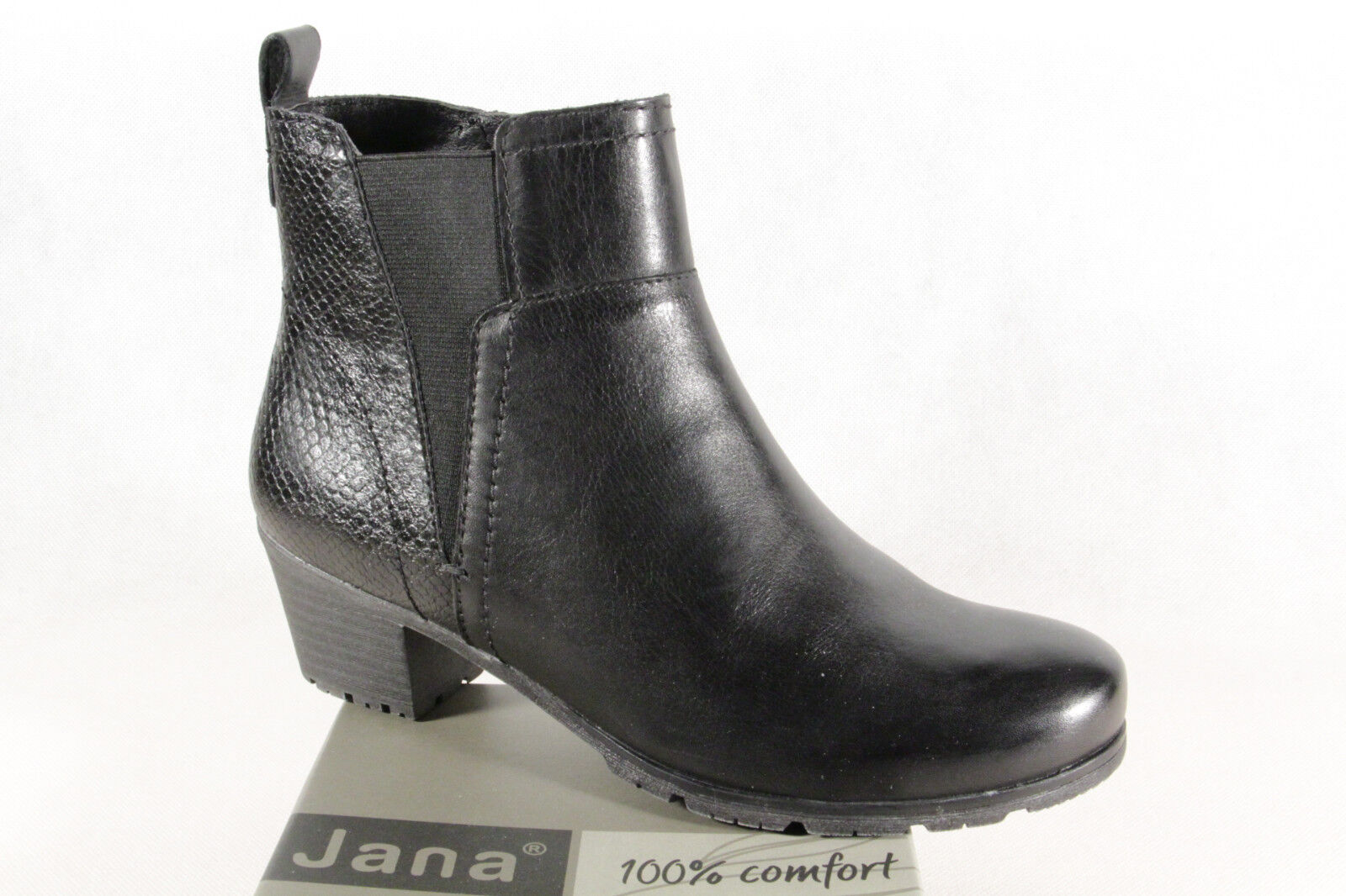 Jana Stiefel Stiefel schwarz Stiefelette Stiefel Winterstiefel schwarz Stiefel 25312 NEU 2ec90b