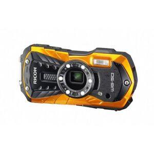 Ricoh-WG-50-orange-Unterwasserkamera-ZUBEHORPAKET-mit-Tasche-und-Floating-Strap