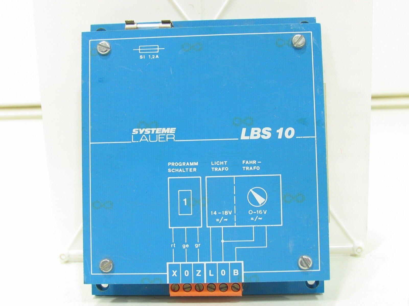 Los sistemas lauer lbs 10 sombras de control de la estación analógica + digital nz1982