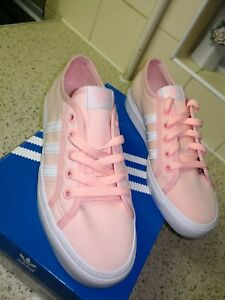 new arrival low price sale top design Details about Adidas NIzza LO CL K Originals Ladies Trainers Size UK 5/Euro  38 RRP £75.
