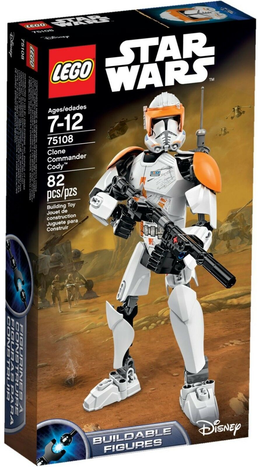 LEGO Star Wars 75108 - Clone Commander Cody - Buildable Figure - New in Box