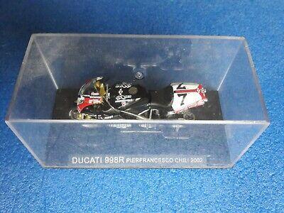 159 Ducati 998r P.f. Chili 2002 Scala 1 : 24 Box Cvgm3/19 Adatto Per Uomini, Donne E Bambini