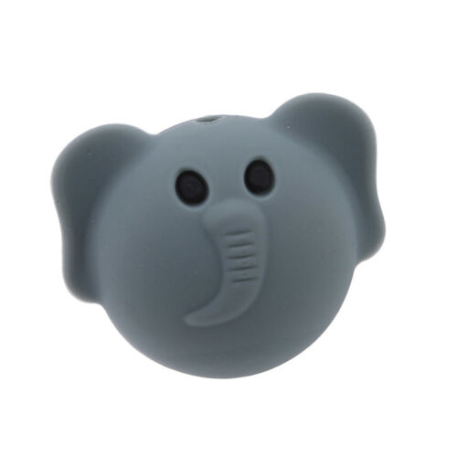 Elephant Silicone Chew Toy Soft Safe Teeth Stick Safety Baby Toddler Teether G