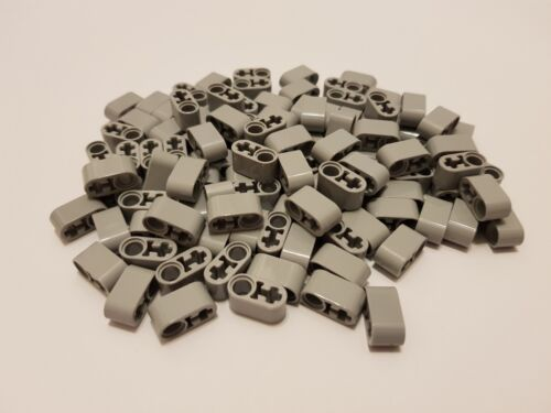 LEGO 60483 Technic Light Bluish Grey Liftarm 1 x 2 Thick with Pin Hole