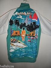 VERY RARE~Adidas ORIGINALS MIAMI firebird Track Top Jacket superstar~Mens sz 2XL