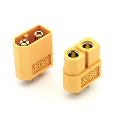 1 par XT60 Conector Enchufe RC Batería LiPO enchufe 3.5mm