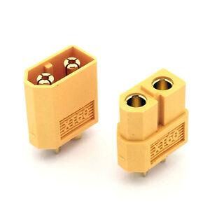1-paire-XT60-Connecteur-Prise-RC-Batterie-Accu-LiPO-Plug-3-5mm