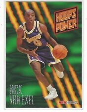 1994-95 HOOPS BASKETBALL POWER RATINGS NICK VAN EXEL #PR26 - LOS ANGELES LAKERS