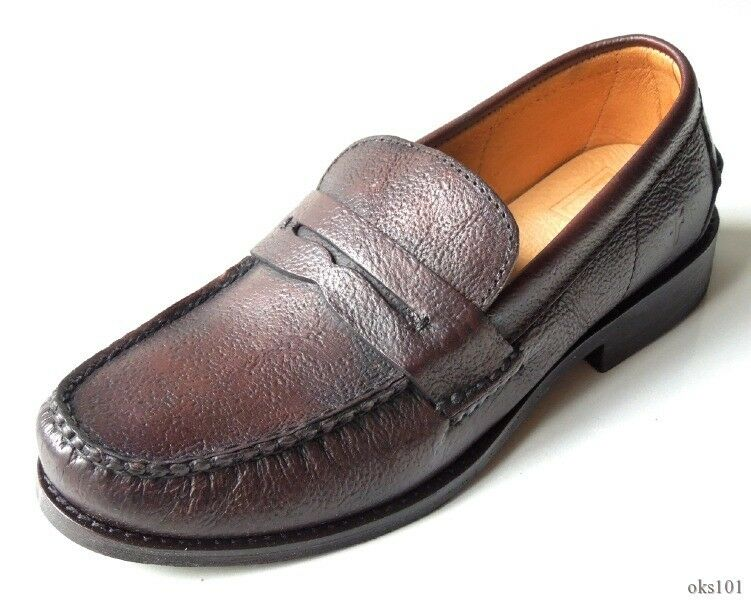 classico senza tempo NIB Uomo FRYE 'Douglas' Penny Hammered dark Marrone leather loafers loafers loafers scarpe - BEST  vendita con alto sconto