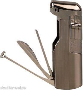 pfeifenfeuerzeug mit besteck