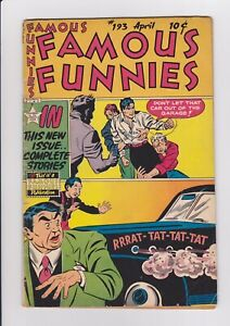 Famous-Funnies-193-April-1951-Eastern-Color-VG