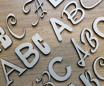 MDF Blanks MDF Toy Box Letters 6mm Thick MDF Blank Letters