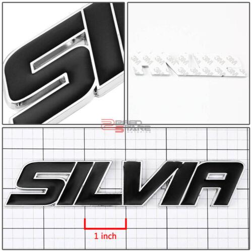 AUTO METAL BUMPER TRUNK GRILL EMBLEM LOGO BADGE BLACK FOR SILVIA S13 S14 S15