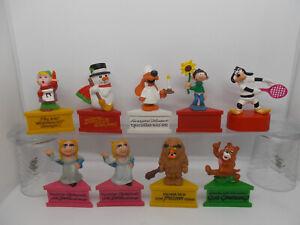 Schleich-Dreiecksockel-socle-Auswahl-Muppets-Spitzer-Sesamstrasse-Weihnachten