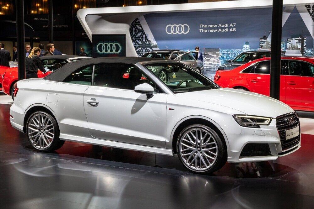 Audi A3 1,6 TDi 110 Cabriolet 2d