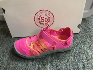 New So Girls Elephant Shoes Pink Size 3