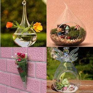 Diy hydroponic plant flower hanging glass vase container home garden wall decor ebay Diy home decor flower vase