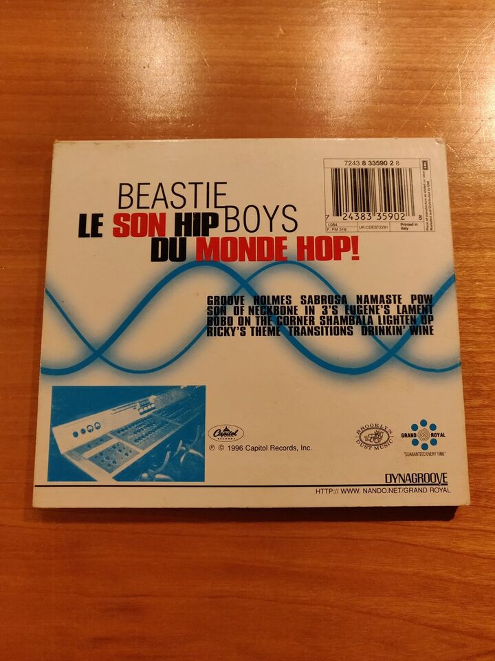 Beastie Boys: The in Sound from Way out, hiphop