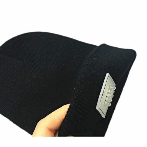 5 LED Lighted Cap Winter Warm Beanie Angling Hunting Camping Running Sports Hat