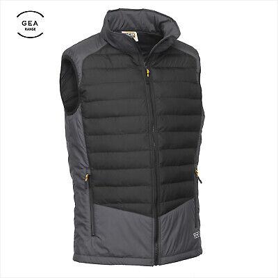 JCB Men Bodywarmer Lightweight Safe Top Padded Thermal Warm Work Gilet Body Vest
