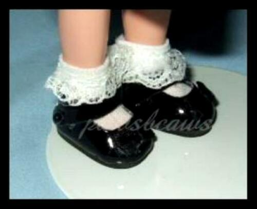 """SAVE $12 on 4 pair of Patent Mary Jane Doll SHOES for Eden 8/"""" MADELINE /& Friends"""