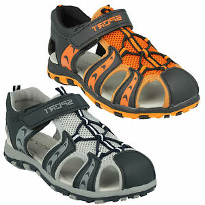 INFANTS BOYS KIDS N0040 WALKING SPORT SUMMER RIPTAPE STRAP SANDALS SHOES JCDEES
