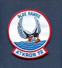 "VA-72 BLUE HAWKS US NAVY A-4 SKYHAWK A-7 CORSAIR Attack Squadron 4"" Patch"